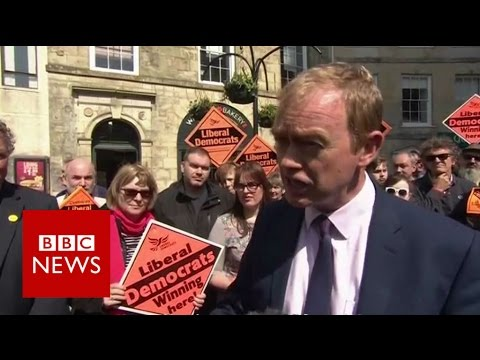 Tim Farron on general election - BBC News