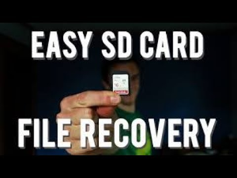 How To Recover Deleted Files From SD Card For FREE | Recover Deleted Photos | SD Card Recovery 2019