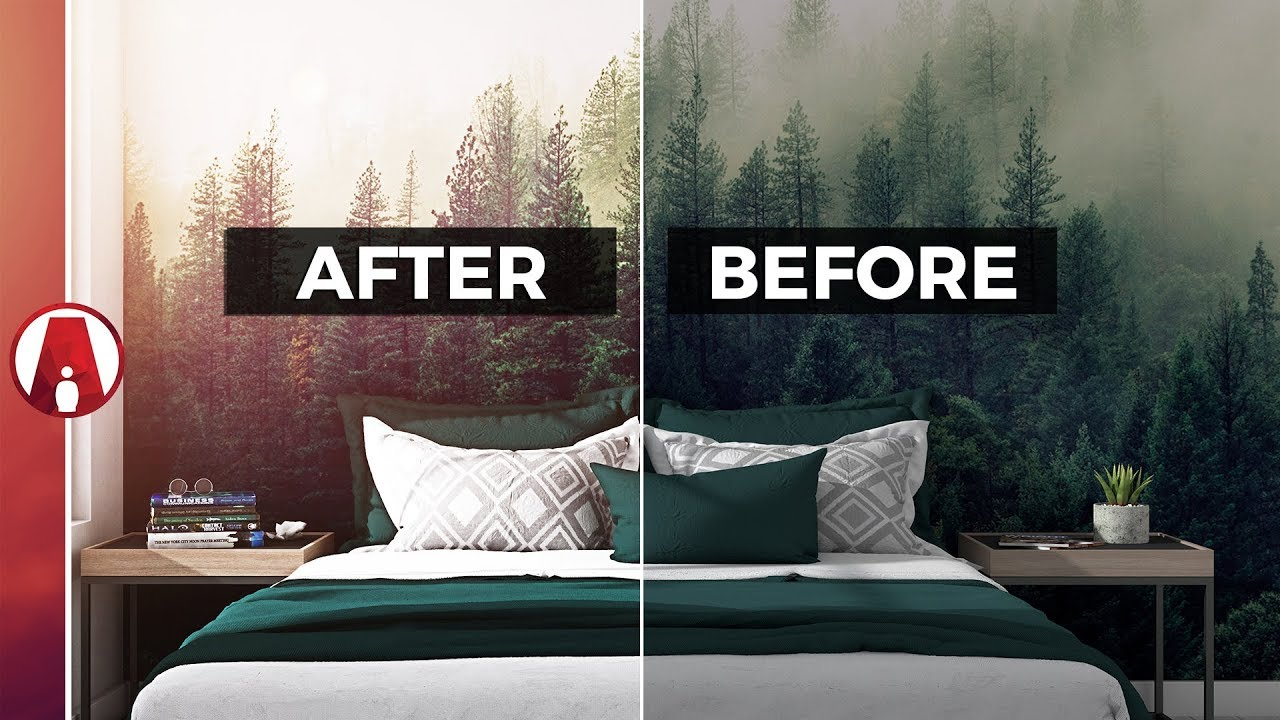 How to make renderings LOOK BETTER in PHOTOSHOP