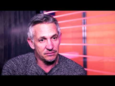 Interview with Gary Lineker