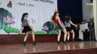 Nữ Sinh nhảy hiện đại cực hay party shaker   (Nữ Sinh Thanh Lịch Cửu Long)