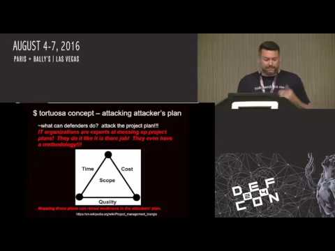 DEF CON 24 - Maelstrom - Attack Life Cycle Game to Educate, Demonstrate, Evangelize