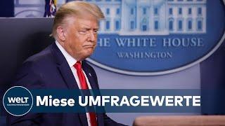 "CORONA-DRAMA IN DEN USA: Donald Trump jammert - ""Niemand mag mich"""
