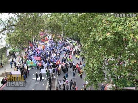 Big London Protests Against Austerity