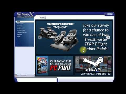 [FSX] Как установить аэропорт? (Как установить сценарий?)