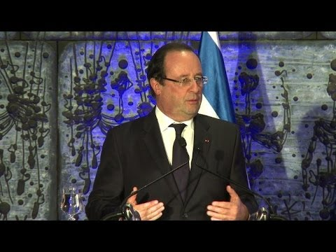 """Israël: Hollande attend des """"gestes"""" sur la colonisation"""