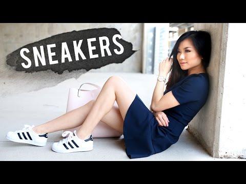how-to-wear-sneakers- -adidas-superstar-2-lookbook- -how-to-style-adidas-superstar- -miss-louie
