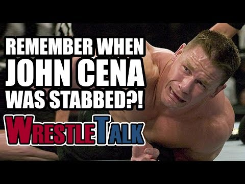 Remember When John Cena Was Stabbed On WWE Smackdown?!
