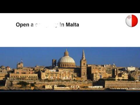 Open a Company in Malta