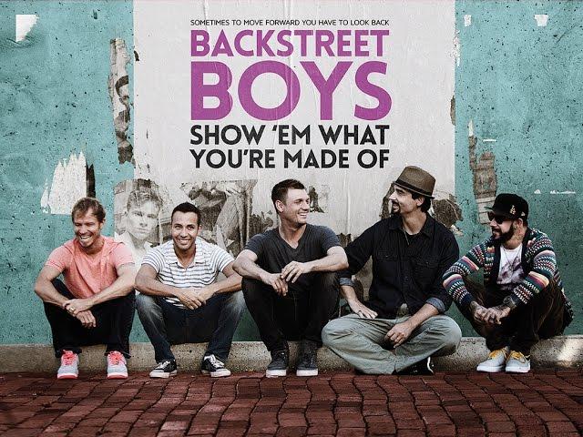 バックストリート・ボーイズのドキュメンタリー!映画『BACKSTREET BOYS:SHOW 'EM WHAT YOU'RE MADE OF』予告編