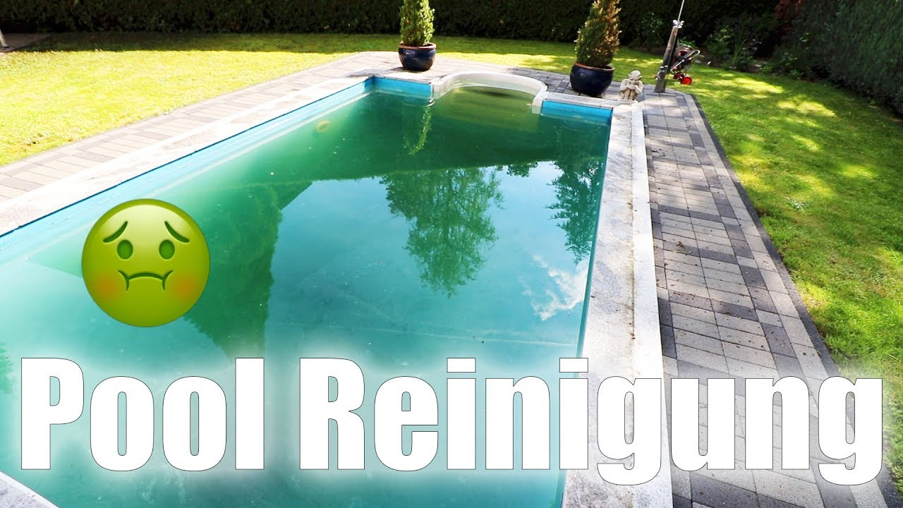 Gr nes wasser im pool thej0llyflogs 519 youtube for Pool im boden