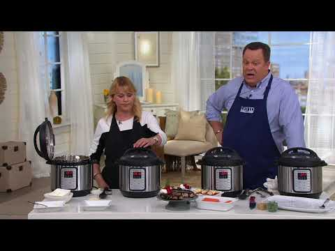 how-to-use-the-instant-pot-6-qt-viva-9-in-1-digital-pressure-cooker-|-qvc
