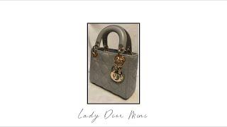 Lady Dior Mini- 레이디 디올 미니 (Opa…