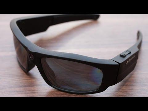 47b5fd014525 Pivothead Durango Glossy Black Recording Sunglasses Review - YouTube