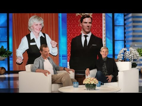 Benedict Cumberbatch Reacts to His Chocolate Bunny Look-Alikes