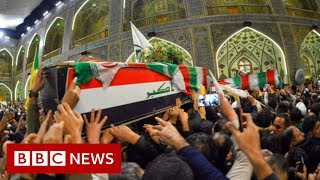 Qasem Soleimani: Iraqi MPs back call to expel US troops - BBC News