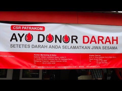 Patrakom: Donor Darah Patrakom (12/01/18)