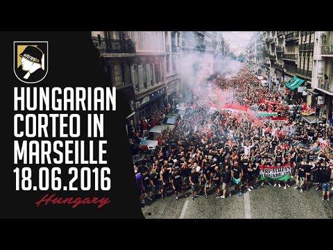 Hungarian corteo in Marseille 18.06.2016