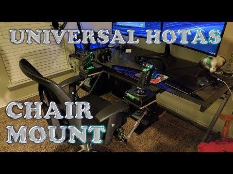 DIY Universal HOTAS Chair Mount