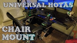 DIY Universal HOTAS Chair Mount
