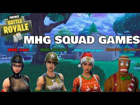 Insane MHG Squad Games (FN Battle Royale)