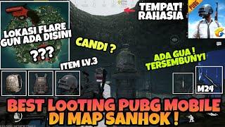 Ada Gua Rahasia di Map Sanhok PUBG MOBILE - Best Looting Berisi Item lv3 dan Pistol Flare Gun !