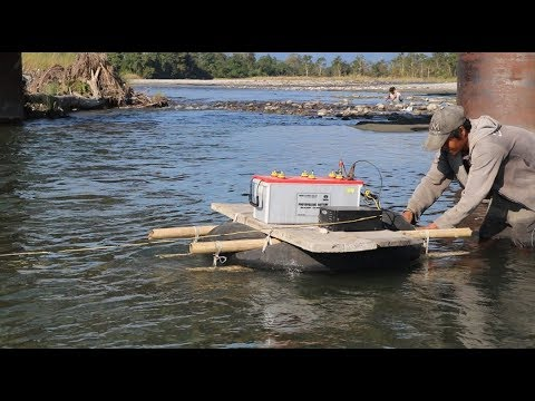 Wow!! Electro Fishing ?