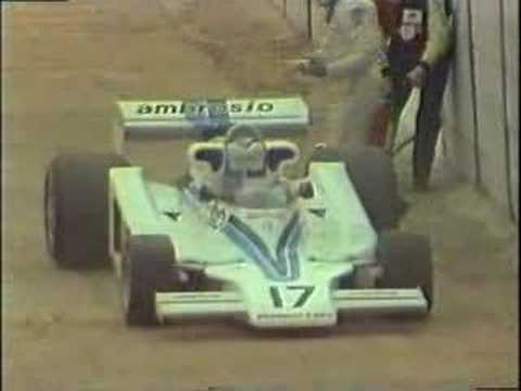 F1 1977 - Death of Tom Pryce, South-African GP