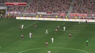 PES 2014 - Atletico Madrid vs Real Madrid Gameplay PC
