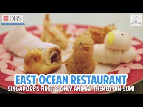 Singapore's Only Animal Themed Dim Sum At East Ocean Restaurant!