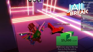 ROBLOX JAILBREAK | Robbing The Museum, Jewelry Store, Train And More