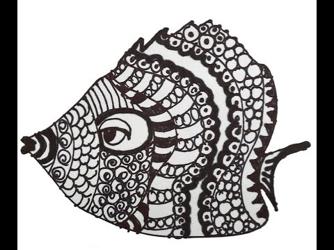 Progressive Art-Tangle Fish