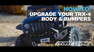 Pro-Line HOW TO: Upgrade Your TRX-4 Part 2