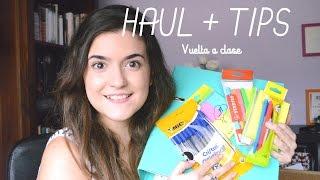 TIPS + HAUL material escolar | Back to School ✐