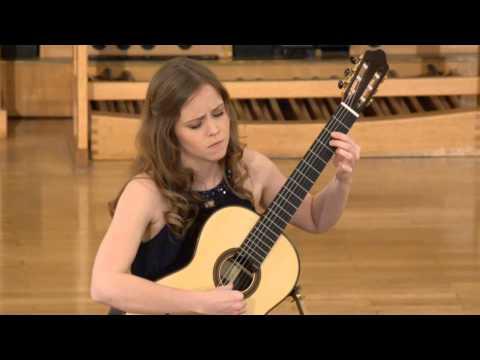 Jessica KAISER Plays La Serenor By Vicente Asencio