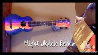 FLIGHT TRAVEL SERIES SOPRANO UKULELE REVIEW!! Elise Ecklund signature ukulele.