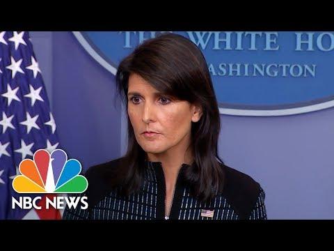 White House Press Briefing - September 15, 2017 | NBC News