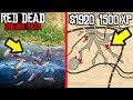 SECRET MONEY AND XP LOCATION in Red Dead Online! RDR2 Online Money Glitch and XP Glitch?