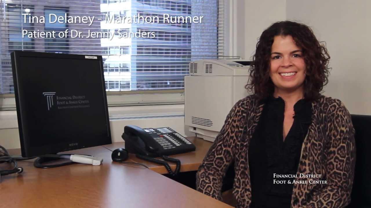 d9b093476e463 Testimonial - Tina Delaney - Nike Women s Marathon Finisher - San Francisco  Podiatrist - FDFAC
