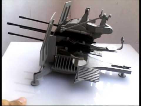 Papercraft FLAK VIERLING Papercraft Scratchbuild