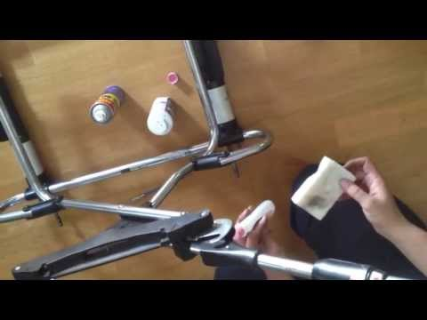 Stroller Maintenance: How to Remove Rust and Clean Stroller Chassis. DIY Fast and Easy!