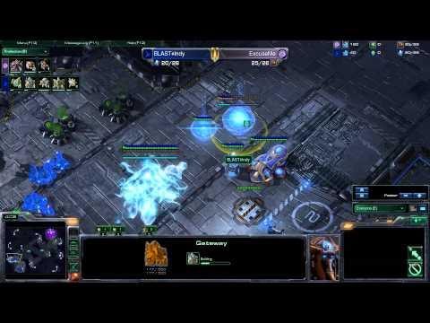 Indy(PL) vs TSLRevival (Kor) Starcraft 2 HD polski komentarz