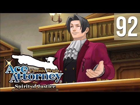 Phoenix Wright: Spirit of Justice #92 ~ Turnabout Time Traveler - Trial, Day 1 (1/3)