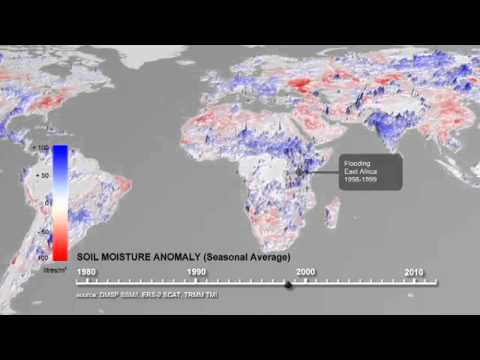 ESA Analyzes 30 Years of Soil Moisture Data