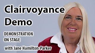 Demonstration of Clairvoyance by Psychic Medium Jane Hamilton-Parker