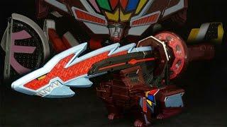 侍戦隊シンケンジャー 侍合体シリーズEX 恐竜折神 Samurai Sentai Shinkenger Samurai Gattai Series EX Kyuryu Origami