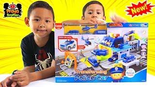 Praya Bermain Mainan Mobil-mobilan Polisi Bisa Berubah Menjadi Garasi Permainan