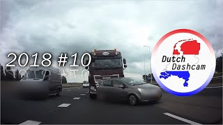 Dutch Dashcam: Dashcam compilation Netherlands 2018 #10