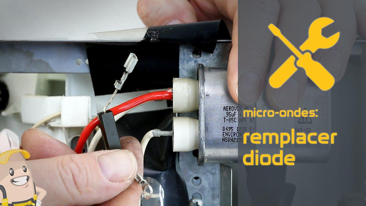 Remplacer la diode de votre microondes  La mthode