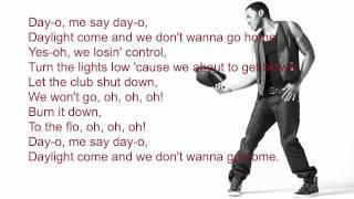 Jason Derulo-Don't wanna go home (lyrics)